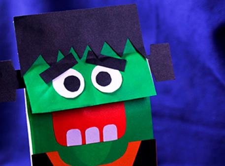 Переносимо персонажа на паперовий пакунок