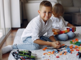 Конструктор LEGO і просторова уява дитини